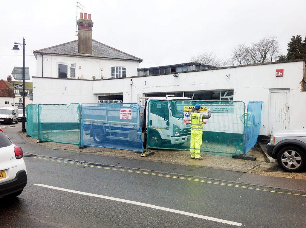 Demolition site health and safety - Wenman Demolition