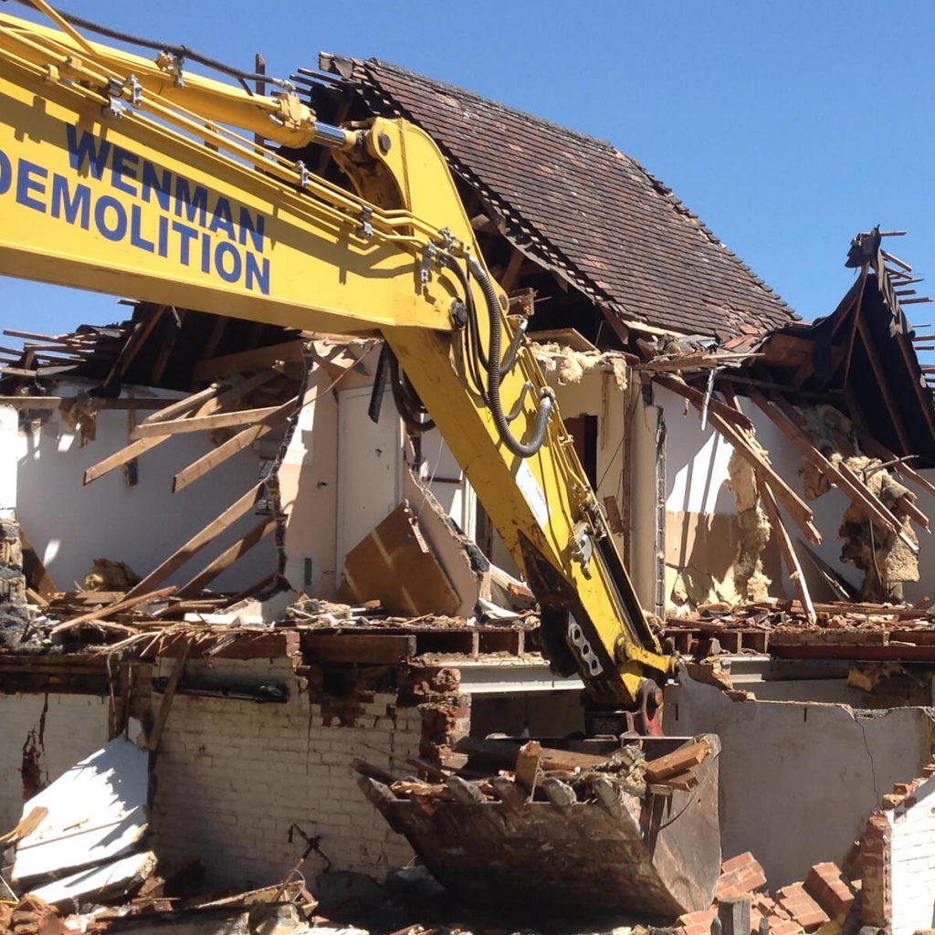 Wenman Demolition, Family run business, experts in demolition